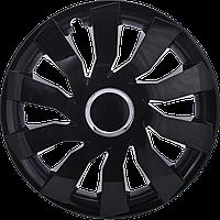 Колпаки колесные CLIFF BLACK ✓ радиус R13 ✓ 4шт ✓ производитель Leoplast