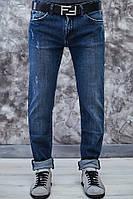 Мужские джинсы синие осень зима Dolce&Gabbana