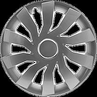 Колпаки колесные CLIFF GRAFIT ✓ радиус R13 ✓ 4шт ✓ производитель Leoplast