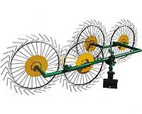 Грабли «Солнышко» ГВР-4 (грабли ворошилки 4-х колесные) ДТЗ