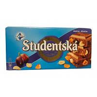 Шоколад Studentska Pecet Mlecna (Студентка с изюмом и арахисом) 180 г. Чехия