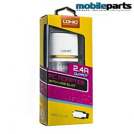 Сетевое зарядное устройство LDNIO DL-AC52 Micro-USB