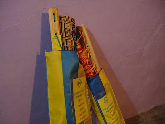 Гамак  сетка двухместный Премиум чехол в подарок, фото 3