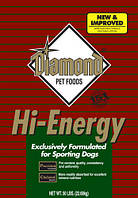 Diamond Hi-Energy Sporting Formula for Dogs - 22,7кг (05,17)