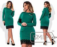 Платье /зеленый/