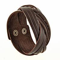Браслет BlankNote Косичка Шоколад