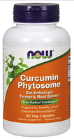 Куркумин с фитосомами, Now Foods, Curcumin Phytosome, 60 vcaps