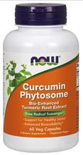 Куркумин с фитосомами, Now Foods, Curcumin Phytosome, 60 vcaps