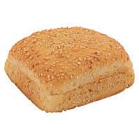 Булочка для гамбургера пшеничная с кунжутом 9х10см