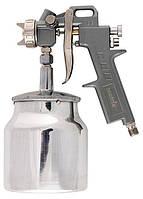 Фарборозпилювач пневматичний з нижнім бачком 1 л + сопла (1.2, 1.5,1.8 мм.) MTX