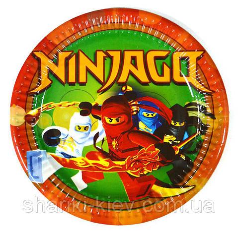 Тарелки Ниндзяго на День рождения , фото 2
