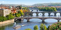 Пазлы Мосты через Влтаву, Прага, 4000 элементов Castorland С-400096