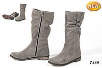 Удобные модные сапоги 7589Деми-Зима