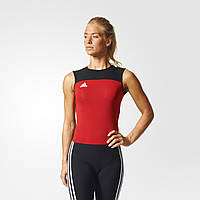 Adidas Трико для тяжелой атлетики Adidas Weightlifting Clima Lite Suit Women (красное)