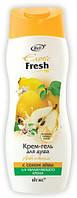 Exotic Fresh Крем-гель для душа Айва и ваниль с соком айвы(Витэкс Экзотик Фреш)-бережный уход RBA /66-15