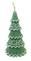 Свеча Новогодняя елка 141116-002