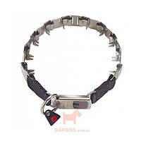 Строгий ошейник для собак с замком Clic Lock, нержавеющая сталь Neck - Tech Sport (Спрингер) Sprenger (48 см)