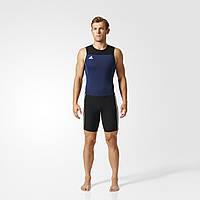 Adidas Трико для тяжелой атлетики Adidas Weightlifting ClimaLite Suit Men (синее)