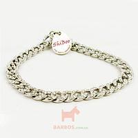 Украшение для собак и котов серебро Amore-Crystal (Шибу) Shiboo (30 см)