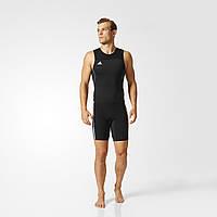 Adidas Трико для тяжелой атлетики Adidas Weightlifting ClimaLite Suit Men (черное)