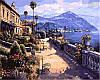 Картины по номерам 40×50 см. Солнечное Средиземноморье Художник Парк Сунг Сам
