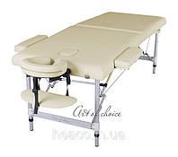 Двухсекционный алюминиевый массажный стол DIO, фото 1
