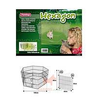 Гексагон вольер для животных 6 панелей Hexagon (Карли-Фламинго) Karlie Flamingo