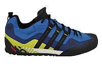 Кроссовки мужские Adidas Terrex Swift Solo Синий/Желтый, 40