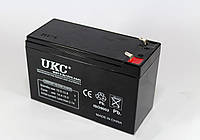 Аккумулятор 12В 9А UKC: гелевый, 2,6 кг, предохранительный клапан от перезаряда, 15х6.5х10 см
