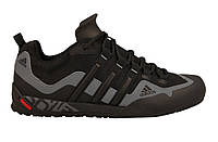 Кроссовки мужские Adidas Terrex Swift Solo Серый/Черный, 42