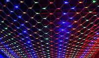 "Гирлянда LED ""Сетка"" 240 LED микс 2х2 м"