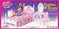 """Мебель Gloria  """"Спальня"""", кровать, туалетный столик, комод, в коробке (ОПТОМ) 2319"""