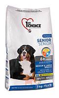 Medium and Large Breeds для пожилых собак средних и крупных пород (Фест Чойс) 1st Choice (14 кг)