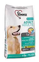 Light Healthy Weight для собак с избыточным весом (Фест Чойс) 1st Choice (6 кг)