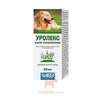 Уролекс капли урологические для профилактики и лечения мочекаменной болезни у собак, 50 мл Agrovetzaschita