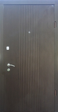 Входные двери Берез Веро модель Лайн ND венге темный 850/950*2040 мм