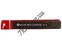 """Пилочка маникюрная для ногтей """"Salon"""" черная в красном чехле Оптом"""