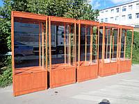 Торговая витрина ДСП+МДФ б/у, витрины торговые дсп б.у, фото 1