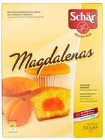 Кексы с абрикосом без глютена Magdalenas Dr. Schar 200г Италия