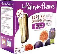 Хлебцы-хрустики с инжиром без глютена Le Pain des Fleurs 150г Франция
