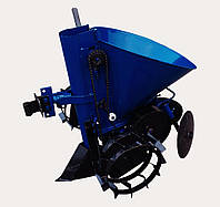 Картофелесажатель мотоблочный КСМ 1Л (c траспортировочными колесами)