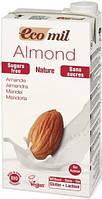 Молоко миндальное без глютена и лактозы Ecomil 1л Испания