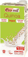 Молоко из киноа с сиропом агавы без глютена и лактозы Ecomil 1л Испания