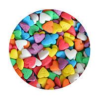 """Посыпка """"Сердечки разноцветные"""", 50 гр."""