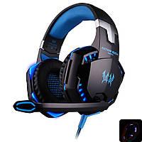 Наушники игровые Kotion Each G2000 Pro Gaming (синие), фото 1