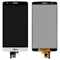 Дисплей (экран) для LG G3s D724 с сенсором (тачскрином) белый