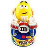 Игрушка M&M's Rock Stars барабанщик +45 г. драже