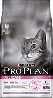 Pro Plan Delicate Turkey 10кг Сухой корм для кошек с чувствиетльным пищеварением с индейкой