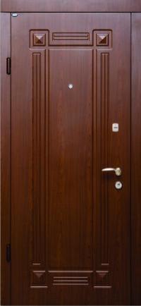 Входные двери Стандарт Берез модель Алмарин вишня темная 850/950*2040 мм