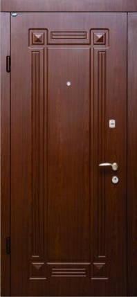 Входные двери Стандарт Берез модель Алмарин вишня темная 850/950*2040 мм, фото 2